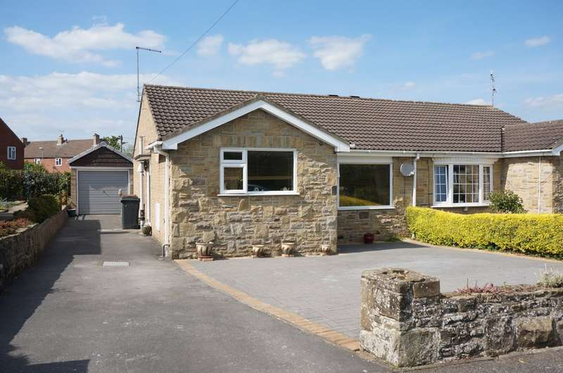 2 Bedrooms Semi Detached Bungalow for sale in North Grove Drive, Wetherby, LS22