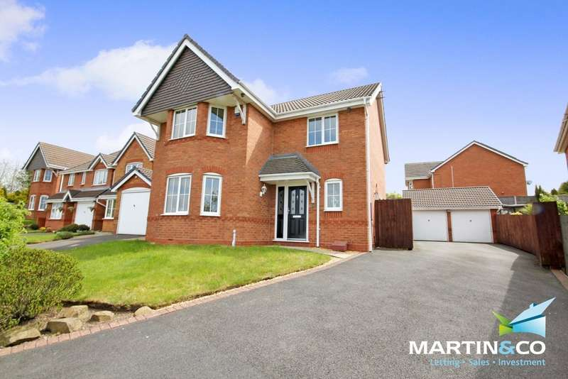 4 Bedrooms Detached House for sale in View Point, Oldbury, B69