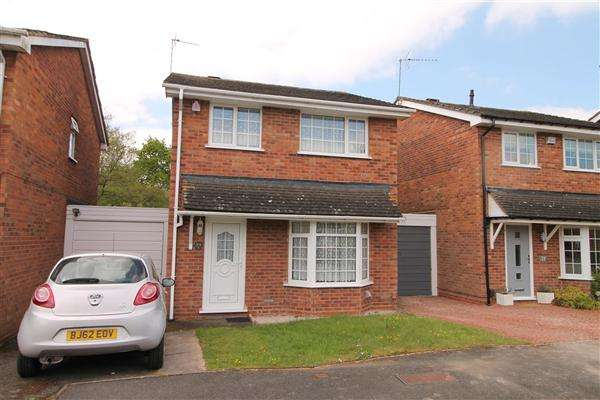 3 Bedrooms Detached House for sale in Hollyberry Close, Winyates Green, Redditch