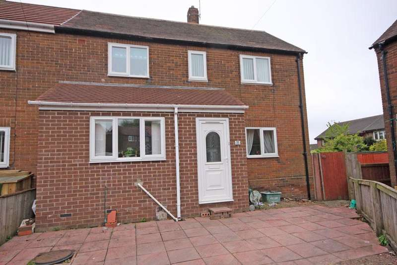 2 Bedrooms End Of Terrace House for sale in Fieldside, Pelton, Chester-le-Street DH2 1DY