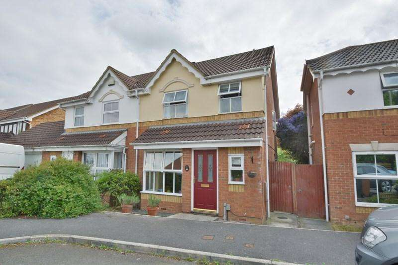 3 Bedrooms Semi Detached House for sale in Cole Close, Andover