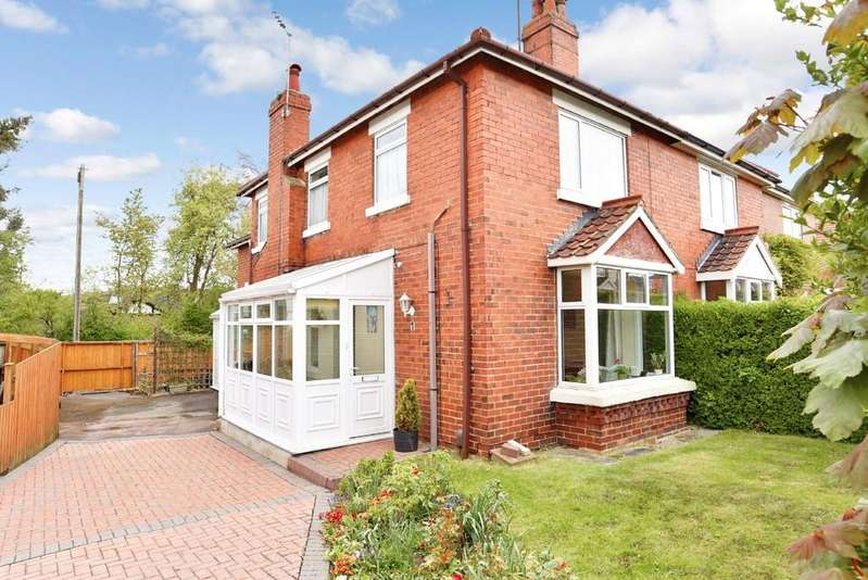 3 Bedrooms Semi Detached House for sale in Hillside Road, Pannal