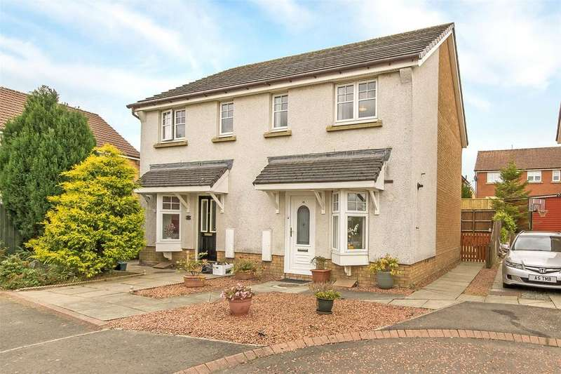 2 Bedrooms Semi Detached House for sale in 28 Glenwood Drive, Armadale, Bathgate, EH48