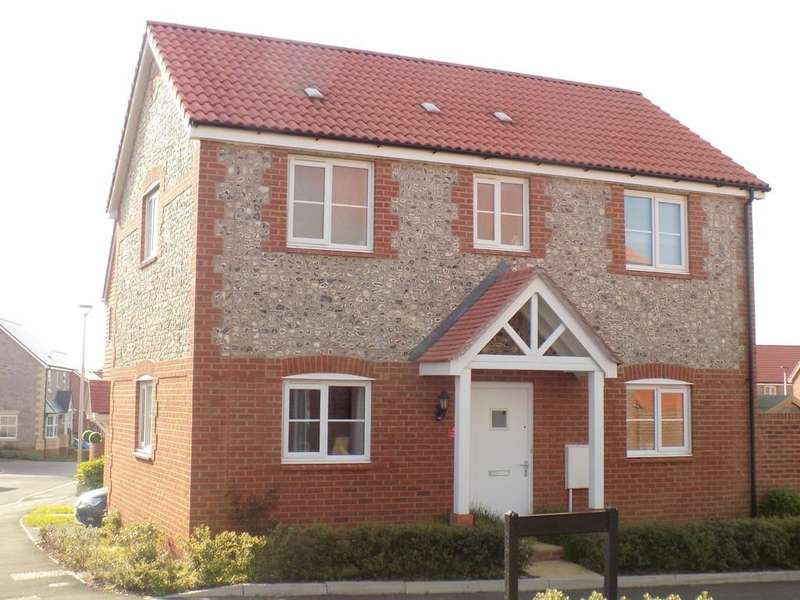 3 Bedrooms Detached House for sale in Higher Meadow, Cranbrook