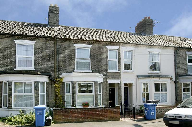 3 Bedrooms Terraced House for sale in Trix Road, Norwich