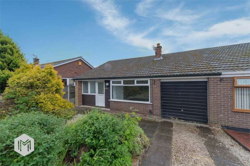 3 Bedrooms Semi Detached Bungalow for sale in Halewood Avenue, Golborne, Warrington, Lancashire