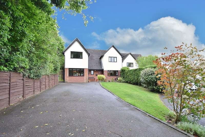 5 Bedrooms Detached House for sale in Kings Worthy
