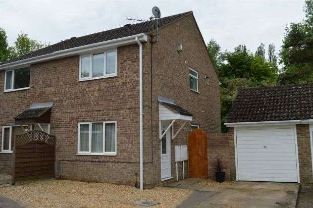 2 Bedrooms Semi Detached House for sale in Manorfield Close, Little Billing, Northampton NN3 9SP