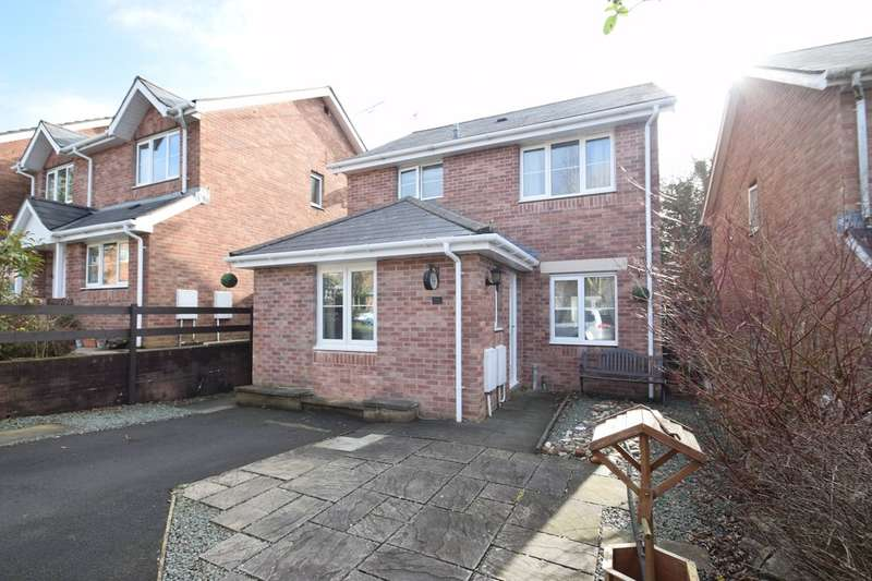 3 Bedrooms Detached House for sale in 19 Maes Y Grug, Broadlands, Bridgend, Bridgend County Borough, CF31 5DD.