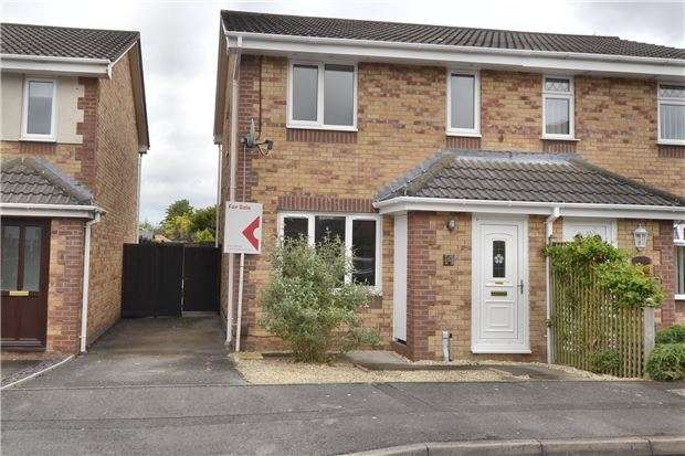3 Bedrooms Semi Detached House for sale in Downy Close, Quedgeley, GLOUCESTER, GL2 4GF