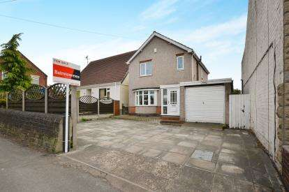 3 Bedrooms Detached House for sale in Mansfield Road, Skegby, Sutton-In-Ashfield, Notts