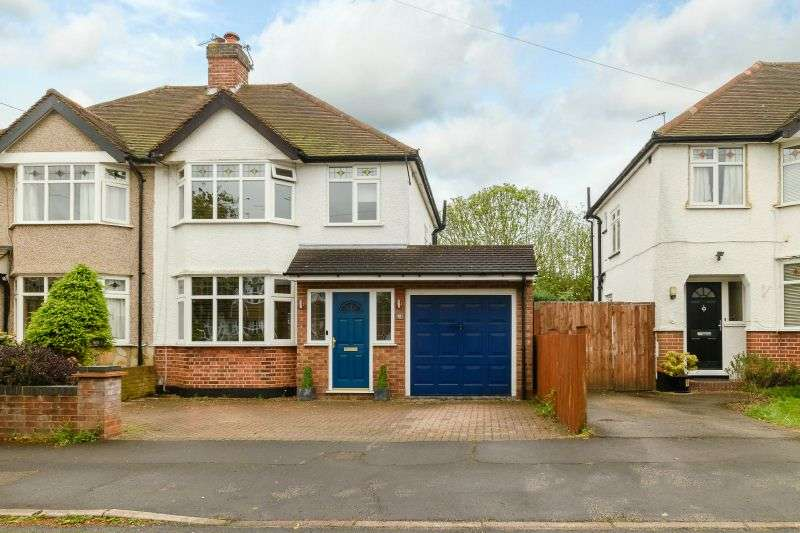 3 Bedrooms Semi Detached House for sale in Malvern Way, Croxley Green, Hertfordshire WD3