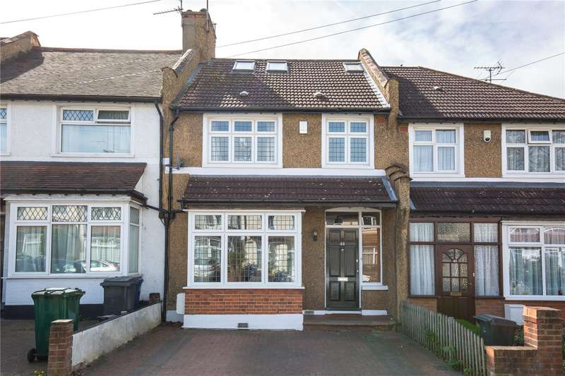 4 Bedrooms Terraced House for sale in Woodgrange Avenue, North Finchley, London, N12