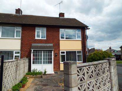 3 Bedrooms End Of Terrace House for sale in Alyn Road, Buckley, Flintshire, CH7