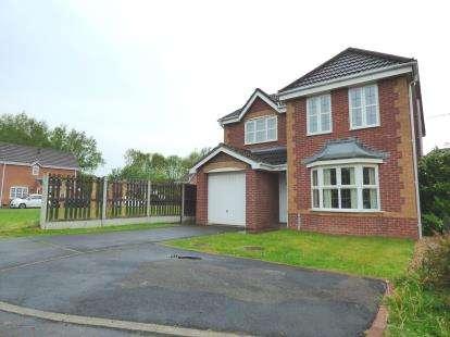 4 Bedrooms Detached House for sale in Park Close, Ribbleton, Preston, Lancashire, PR2