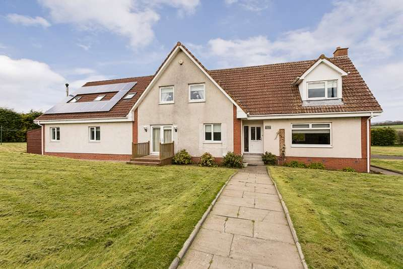 5 Bedrooms Detached House for sale in Sauchenford, Plean, Stirling, Stirlingshire, FK7 8AR