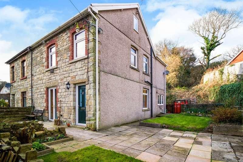 3 Bedrooms Semi Detached House for sale in Tybryn Terrace, Pencoed, Bridgend
