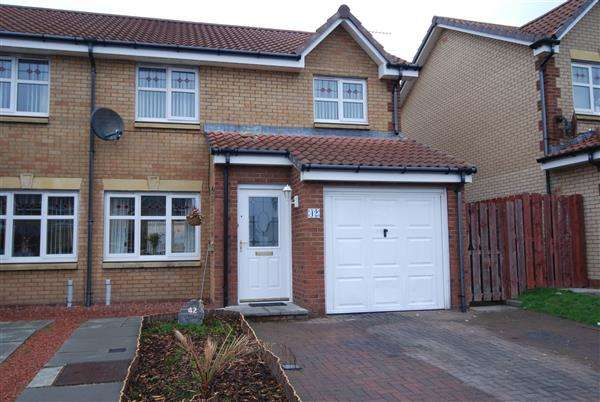 3 Bedrooms Semi Detached House for sale in Corsankell Wynd, Saltcoats