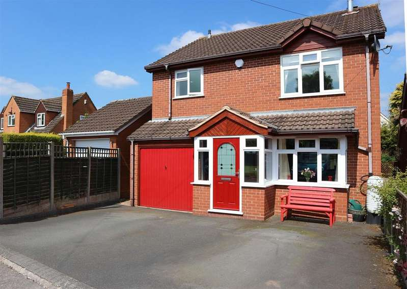 3 Bedrooms Detached House for sale in Church View Gardens, Kinver, Stourbridge