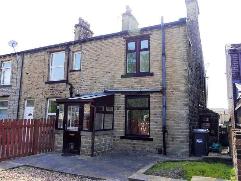 2 Bedrooms End Of Terrace House for sale in Garden Field, Wyke, Bradford, BD12 9NJ