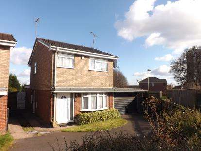 3 Bedrooms Detached House for sale in Aspen Croft, Stafford, Staffordshire