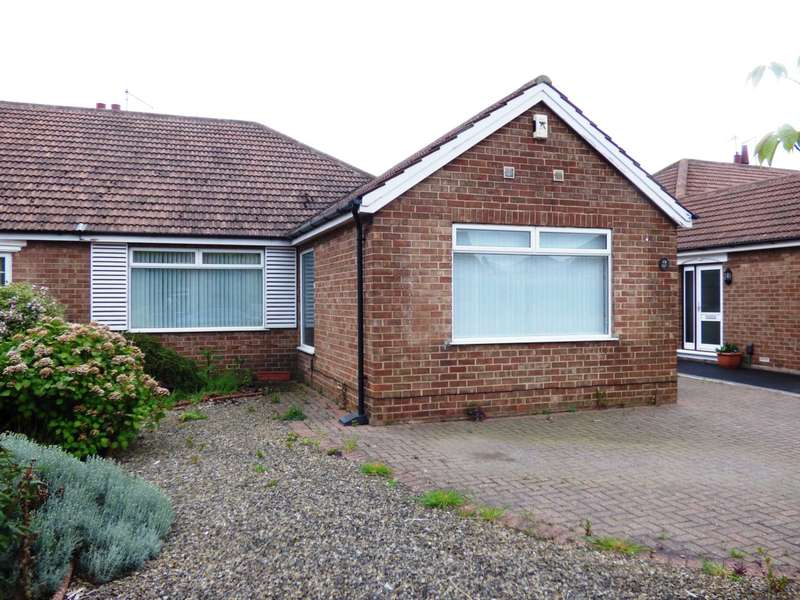 3 Bedrooms Semi Detached Bungalow for sale in Goodwood Road, Redcar