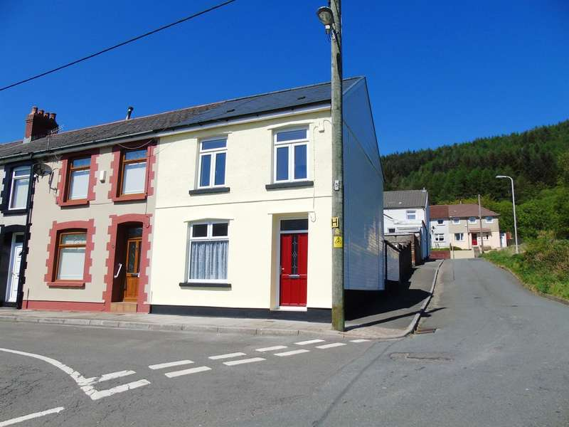 3 Bedrooms End Of Terrace House for sale in Ynysfeio Avenue, Treherbert, Treorchy
