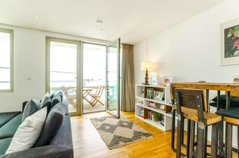 2 Bedrooms Flat for sale in Liberty Bridge Road, Stratford, E20