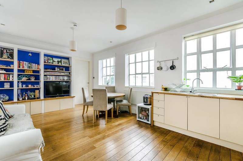 2 Bedrooms Flat for sale in Woodstock Studios, Shepherd's Bush, W12