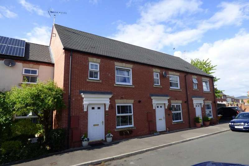 3 Bedrooms Terraced House for sale in Drovers Close, Uttoxeter