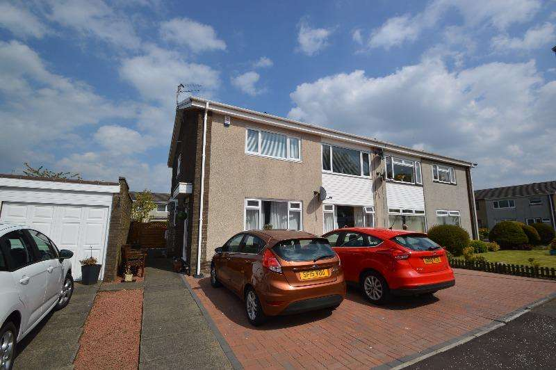 2 Bedrooms Flat for sale in Killermont Place, Kilwinning, North Ayrshire, KA13 6PZ