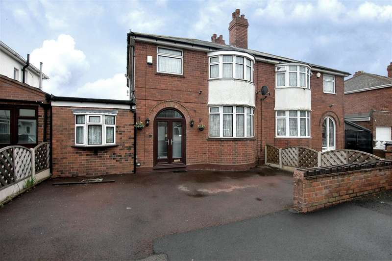 4 Bedrooms Semi Detached House for sale in St Marks Road, Dudley, DY2 7SB