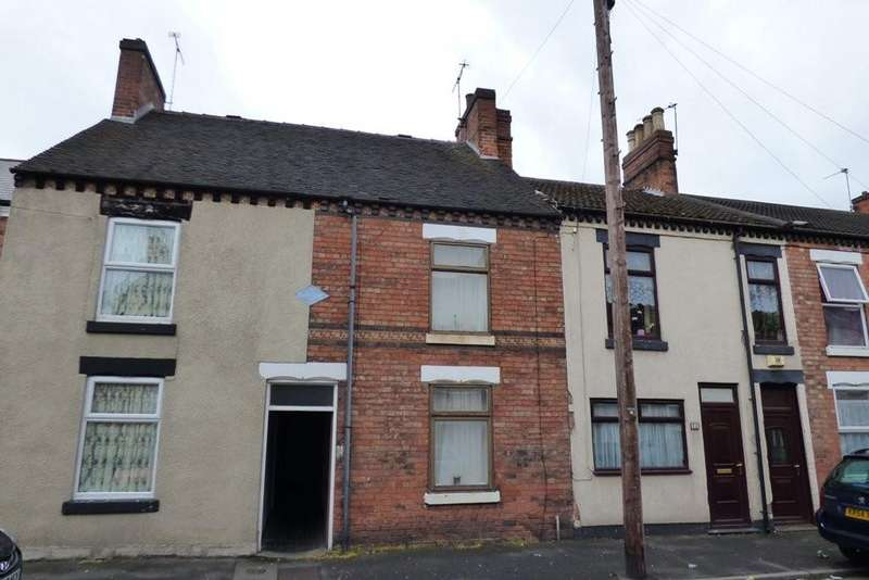 2 Bedrooms Terraced House for sale in All Saints Road, Burton upon Trent