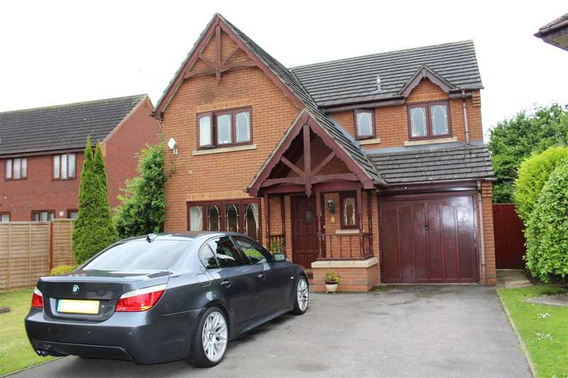 4 Bedrooms Detached House for sale in Tidworth Close, Rushey Platt, Swindon