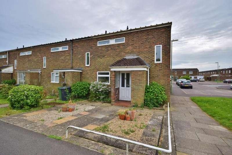 2 Bedrooms End Of Terrace House for sale in Popley, Basingstoke, RG24