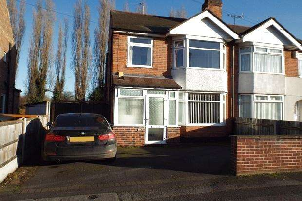 3 Bedrooms Semi Detached House for sale in Charlbury Road, Wollaton, Nottingham, NG8