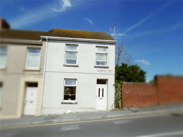 4 Bedrooms End Of Terrace House for sale in Cambrian Street, Llanelli, Carmarthenshire