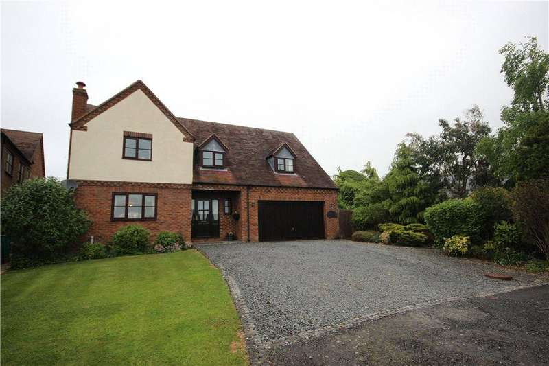 4 Bedrooms Detached House for sale in Clayton Close, Knowbury, Ludlow, Shropshire, SY8