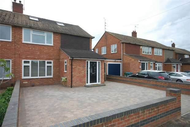 3 Bedrooms Semi Detached House for sale in Northfield Road, Aylesbury, Buckinghamshire