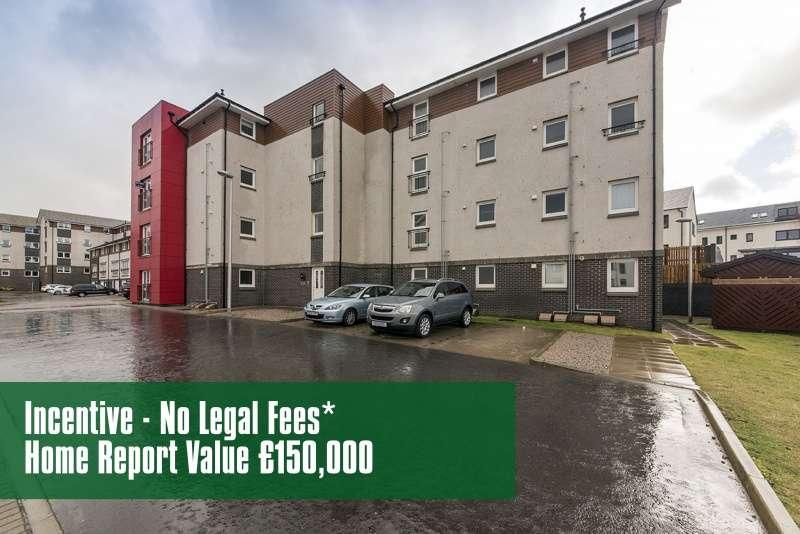 2 Bedrooms Flat for sale in Goodhope Park, Bucksburn, Aberdeen, Aberdeenshire, AB21 9NE