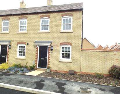 2 Bedrooms End Of Terrace House for sale in Carding Way, Kempston, Bedfordshire