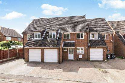 3 Bedrooms Terraced House for sale in Mill Close, Biggleswade, Bedfordshire