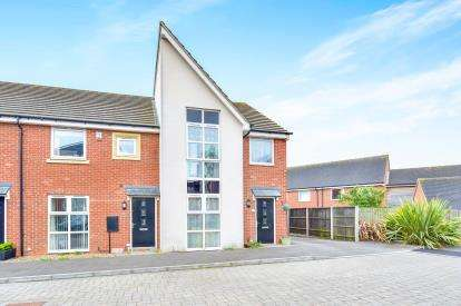 3 Bedrooms End Of Terrace House for sale in Somerset Walk, Broughton, Milton Keynes, Buckinghamshire