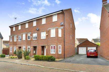 4 Bedrooms End Of Terrace House for sale in Lockhart Avenue, Oxley Park, Milton Keynes