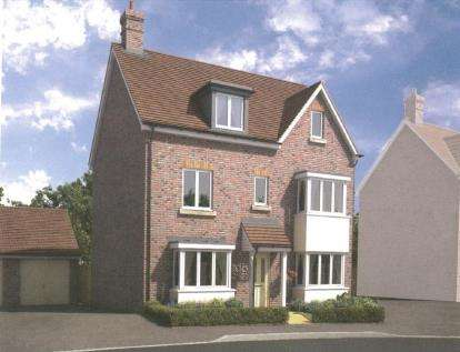 5 Bedrooms Detached House for sale in Kingsfield Park, Aylesbury, Buckinghamshire