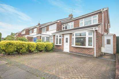 3 Bedrooms End Of Terrace House for sale in Burton Close, Allesley, Coventry, West Midlands
