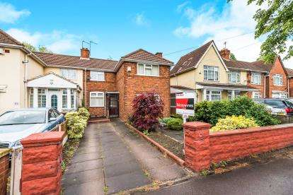 3 Bedrooms Semi Detached House for sale in Broadway West, Walsall, West Midlands