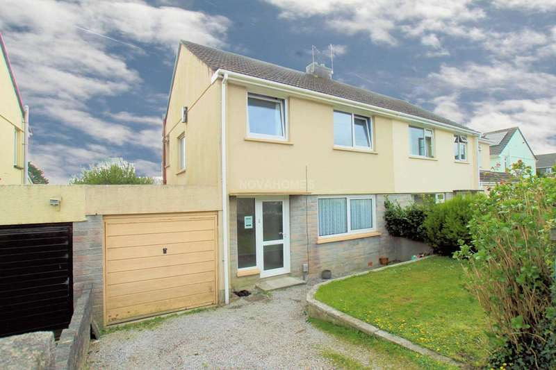 3 Bedrooms Semi Detached House for sale in Clifton Close, Plympton, PL7 4BL
