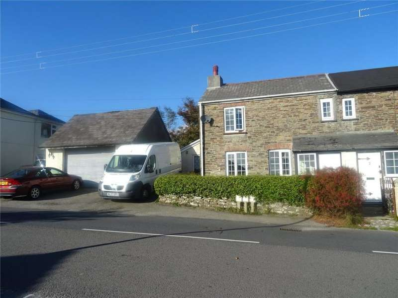 4 Bedrooms Semi Detached House for sale in Cherry Tree Cottages, Higher Road, Pensilva