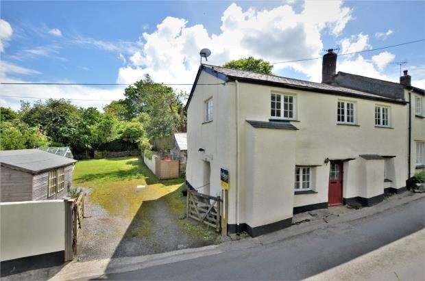 3 Bedrooms End Of Terrace House for sale in Netherton Hill, Drewsteignton, Exeter
